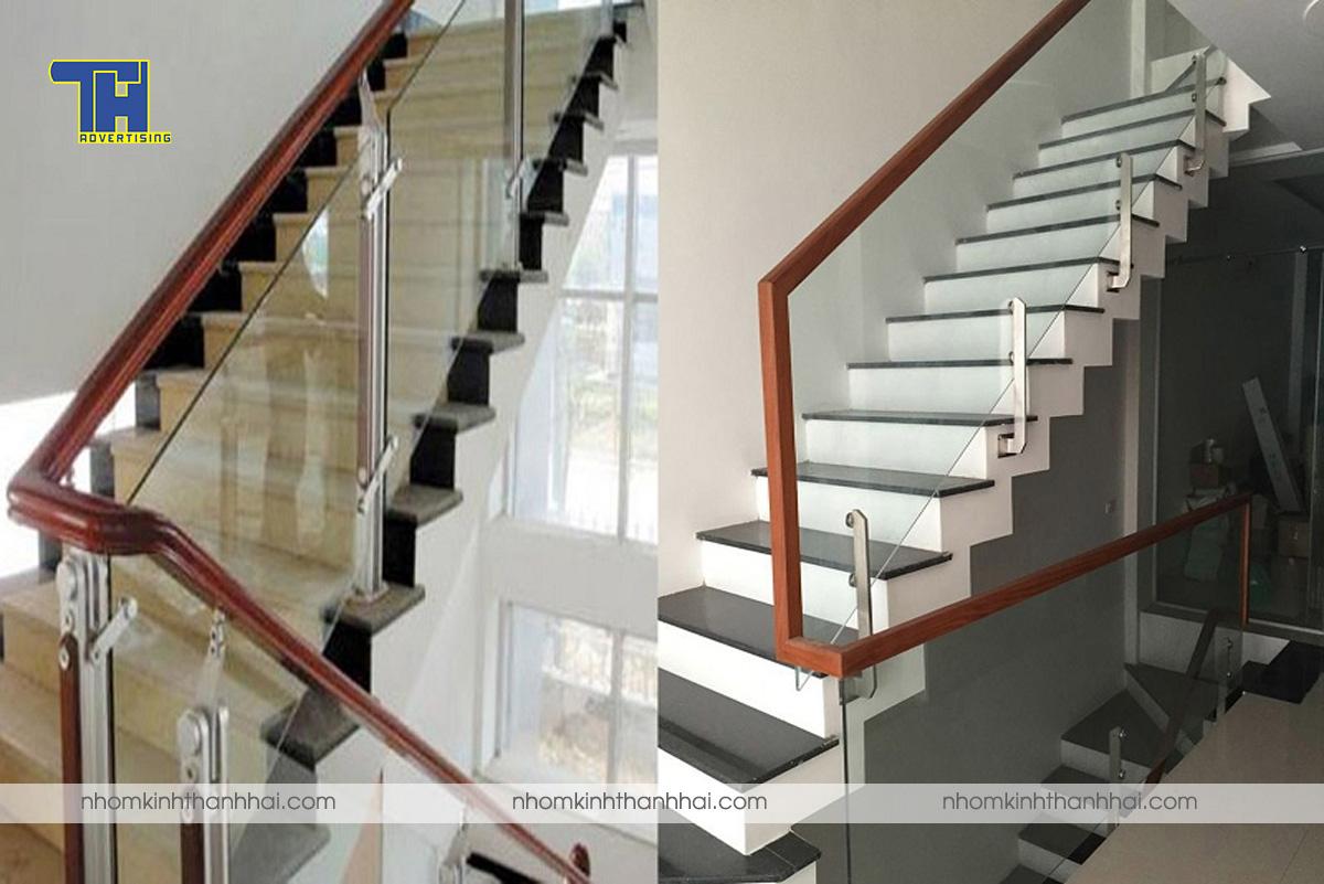 Lắp đặt cầu thang nhôm kính tại Hà Tĩnh