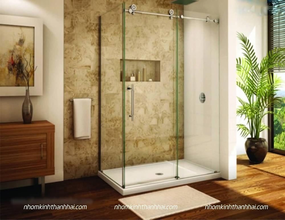 Vách kính nhà tắm Hà Tĩnh